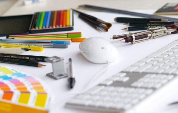 Materiales para el diseño gráfico. Foto: Luis Sánchez