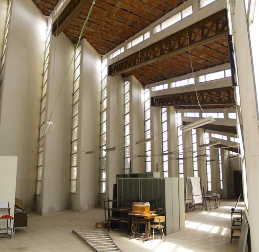 Futura sala de exposiciones de la Escuela de Arte de Algeciras