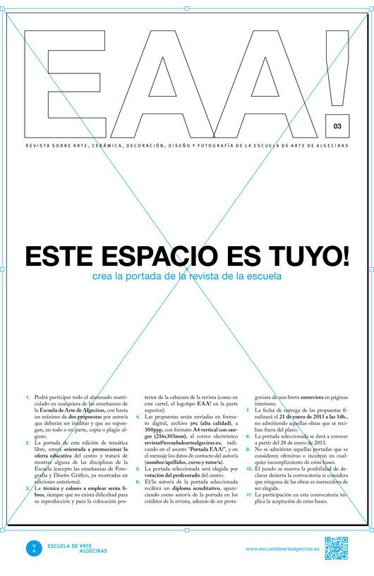 Cartel anunciador. Autora: Virginia Rodríguez López