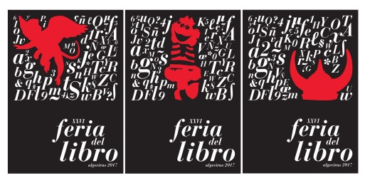 Corina Ambrosio. Carteles para la feria del libro, 2016.
