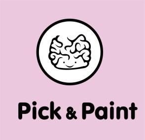 Irene Contreras Muñoz. «Pick&Paint», marca gráfica, 2015.