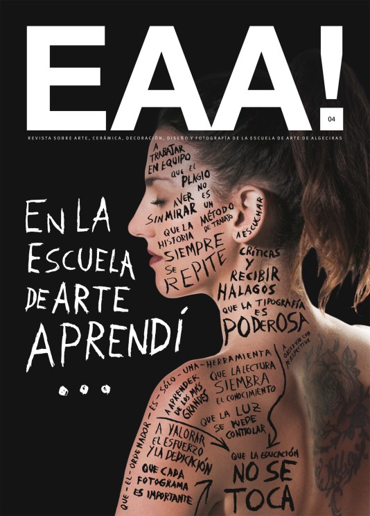 Juan Diego Cortés, Fran Padilla, J. Alberto Caja, María Jesús Borrallo. Revista EAA! 4B, 2015.
