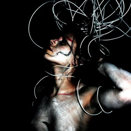 Ana Isabel Sánchez Quero. Fotografía de «body painting», fragmento, 2009.